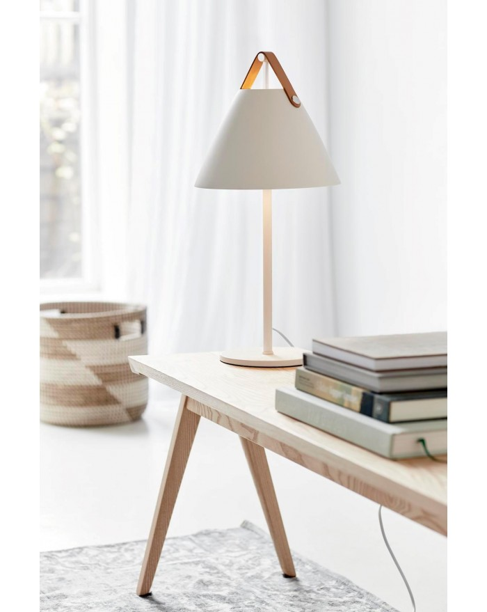 Strap table lamp