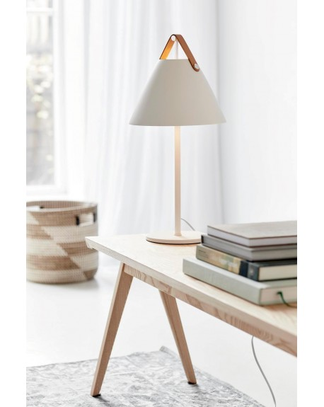 Design For The People - Strap table lamp - Skandynawskie Lampki Biurkowe