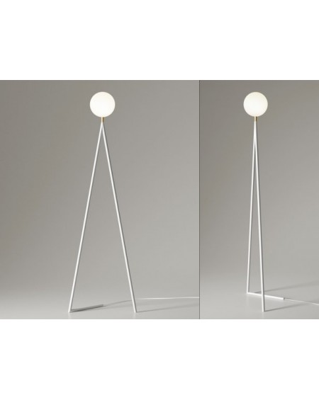 One Globe floor lamp