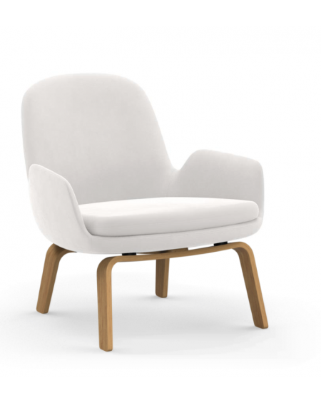 Normann Copenhagen - Era Lounge Chair Low Oak - Fotele Skandynawskie