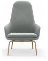 Normann Copenhagen - Era Lounge Chair High Back Oak - Fotele Skandynawskie