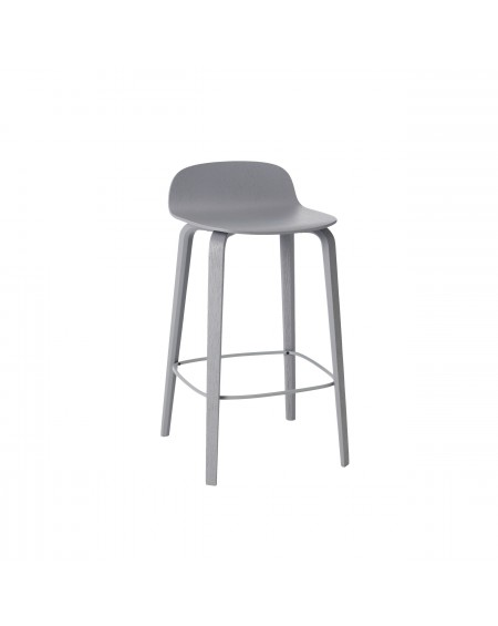 Muuto - Visu bar stool low grey