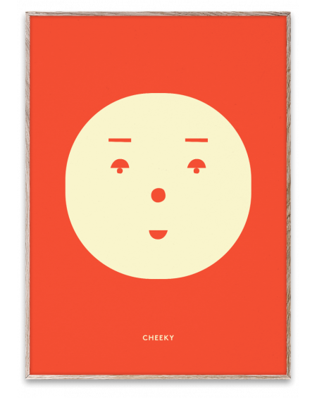 Paper Collective - CHEEKY poster