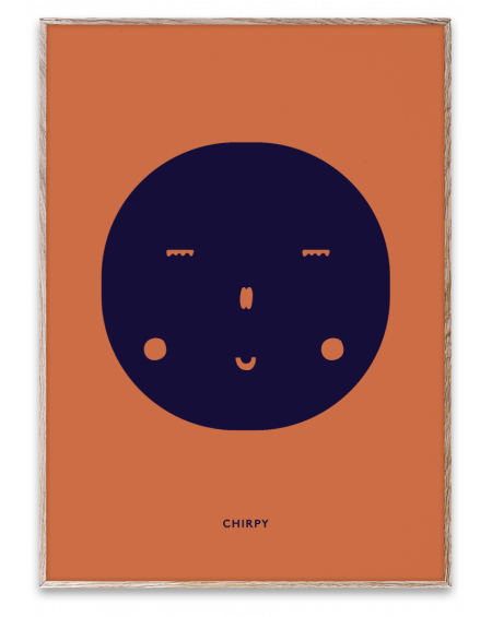 Paper Collective - CHIRPY poster - Plakaty Skandynawskie