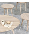 Mater Design - Accent Oval Lounge Table - Stoliki kawowe