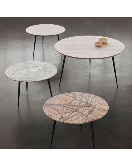 Mater Design - Disc Marble Table - Stoliki kawowe