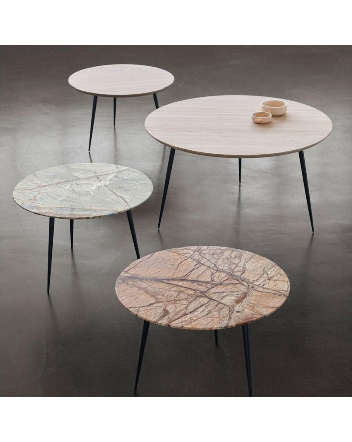 Disc Marble Table