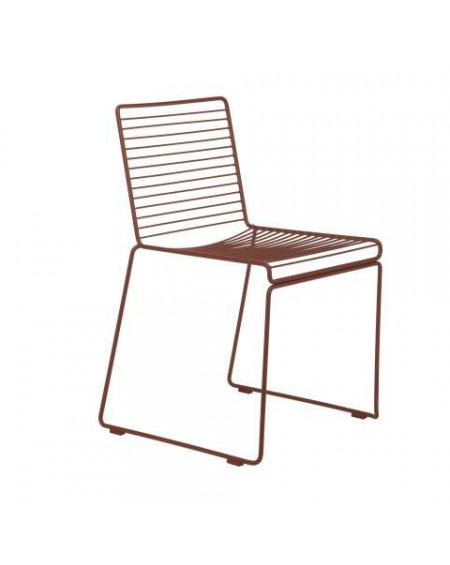 Hee dining chair Rust