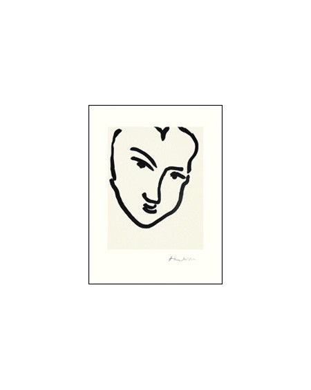 Galerie Maeght - NADIA AU VISAGE PENCHE, MATISSE - Lifestyle