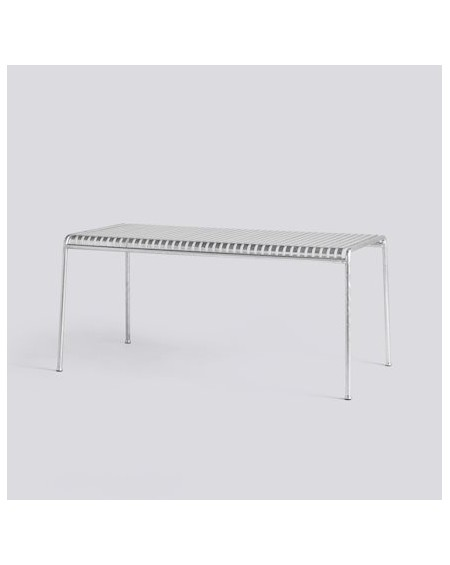 HAY - Palissade Table 170x90 Hot Galvanised - Meble ogrodowe
