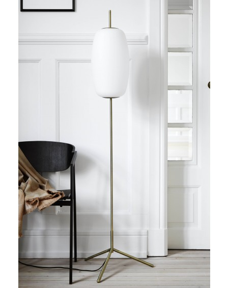 Silk Glass Floor Lamp