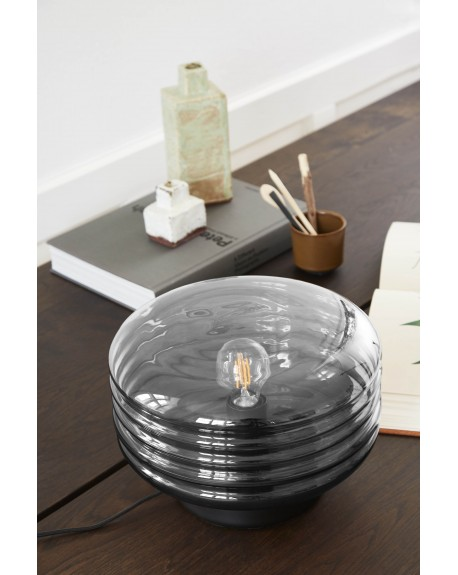 Frandsen - Wheels Glass Table Lamp - Skandynawskie Lampki Biurkowe