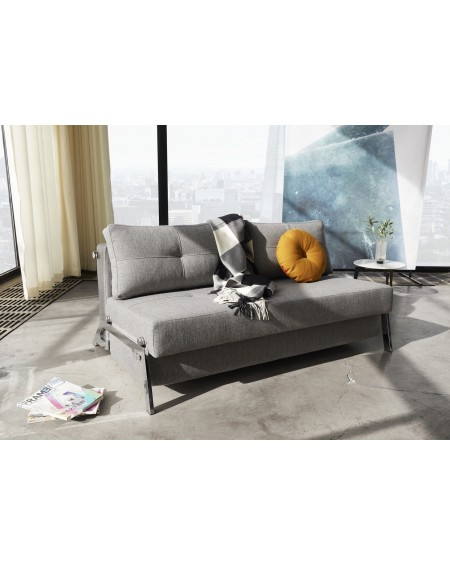 Innovation Living - Cubed 02 140 - 160 cm Chrom sofa rozkładana