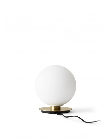 Menu - Tr Bulb table/wall lamp / Brushed Brass - Skandynawskie Lampki Biurkowe