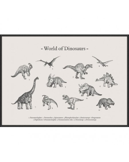 World of Dinosaurs by Memory Art
