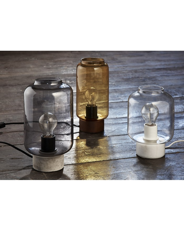Column Table Lamp | Glass