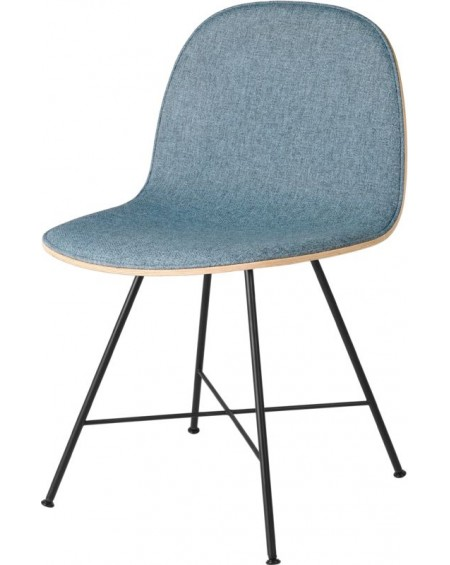 Gubi - 2D Dining Chair - Front tapicerowany - Center base - Meble