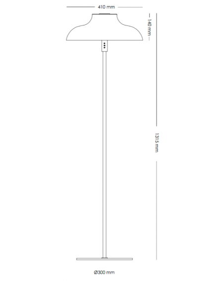 Bolero Floor Lamp Medium