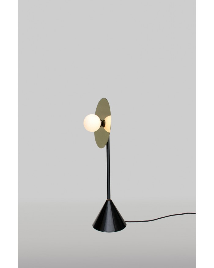 Disc and Sphere Desk Lamp