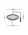 HAY - Nelson Saucer Wall Sconce Cabled S - Skandynawskie Lampy Ścienne