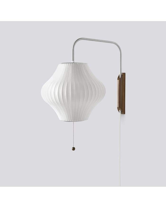 Nelson Pear Wall Sconce Cabled S