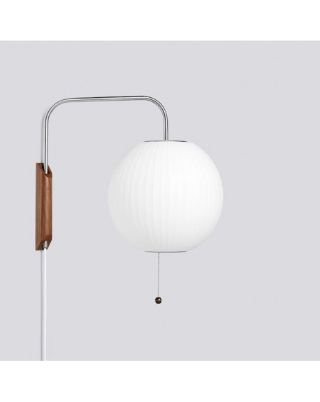 HAY - Nelson Ball Wall Sconce Cabled S - Skandynawskie Lampy Ścienne