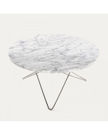 Ox denmarq - O Table / Marble or Rustique Slate - Stoliki kawowe