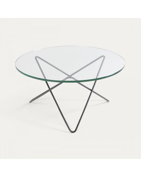 Ox denmarq - O Table / Glass - Stoliki kawowe
