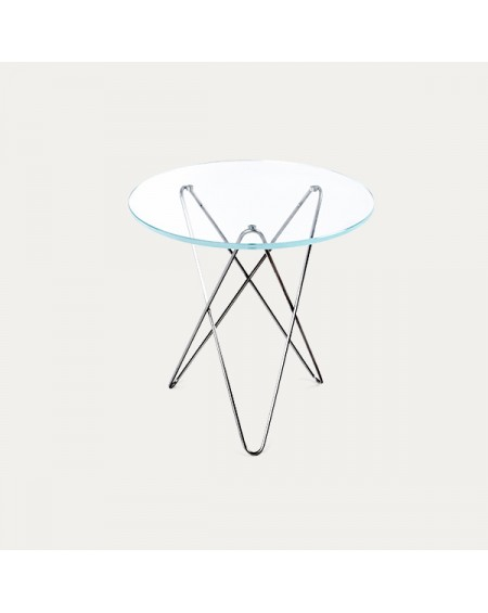Ox denmarq - TALL MINI O Table / Glass - Stoliki kawowe