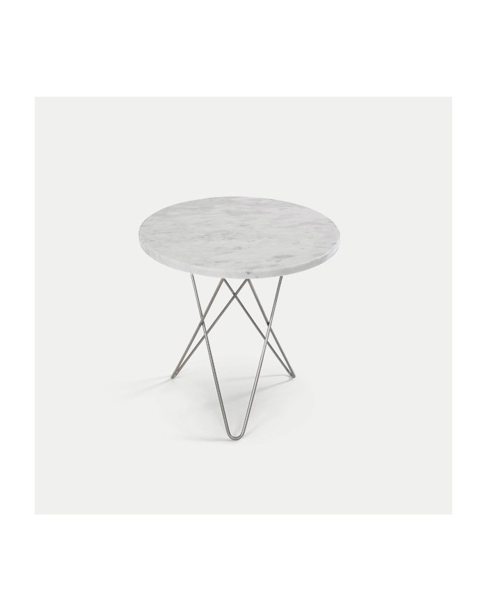 TALL MINI O Table / Marble, Rustique Slate or Wood