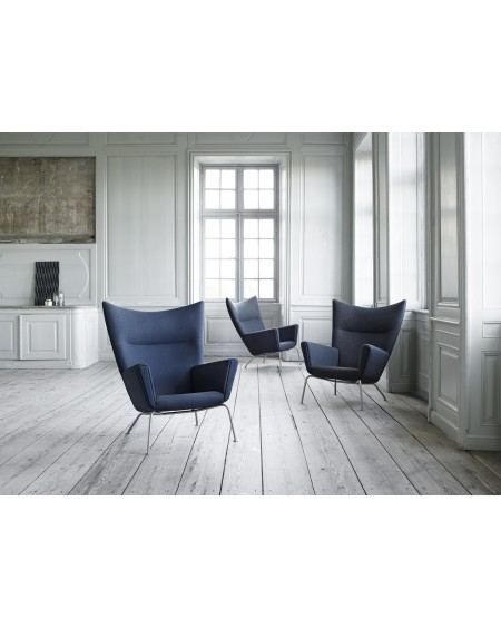 Carl	Hansen - Wing Chair CH445 z podnóżkiem