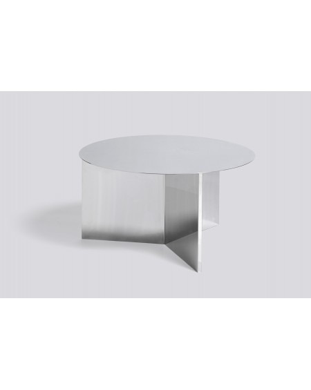 Slit side table mirrored