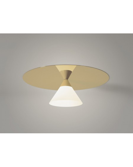 Plate and Cone ceilling lamp