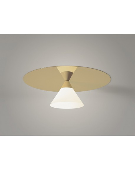 Atelier Areti - Plate and Cone ceilling lamp - Skandynawskie Lampy Sufitowe