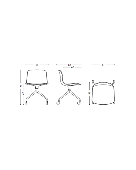 AAC 14 chair UPHOLSTERY