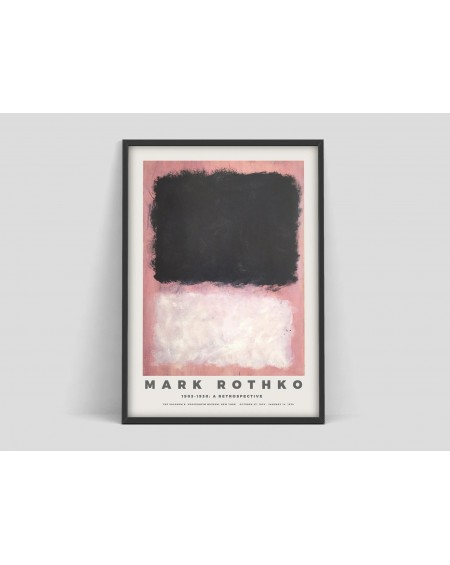 Various selection - Plakat Mark Rothko Poster, Exhibition print for the Guggenheim Museum - Plakaty Skandynawskie