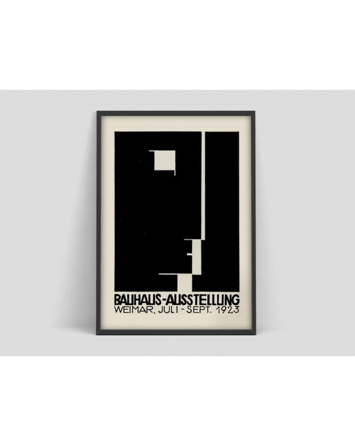 Plakat Bauhaus Art Exhibition poster