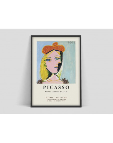 Various selection - Plakat Pablo Picasso Marie Therese poster - Plakaty Skandynawskie