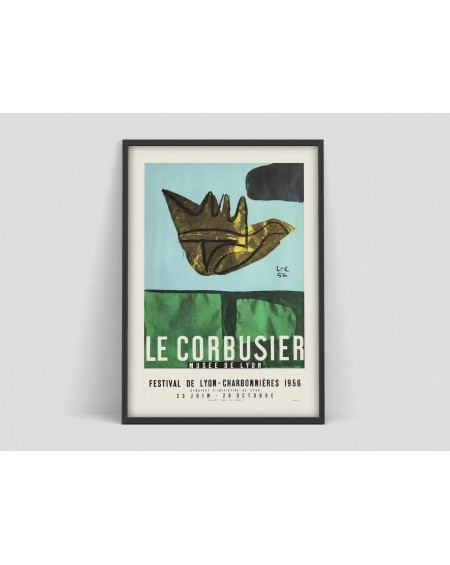 Various selection - Plakat Le Corbusier Art Exhibition poster - Akcesoria