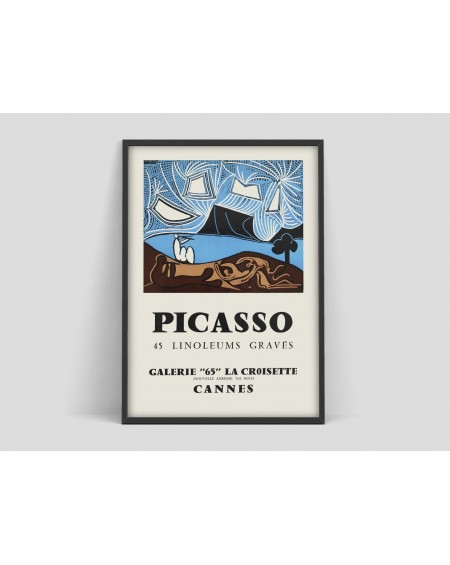 Various selection - Plakat I Pablo Picasso poster, Vintage art Exhibition - Plakaty Skandynawskie