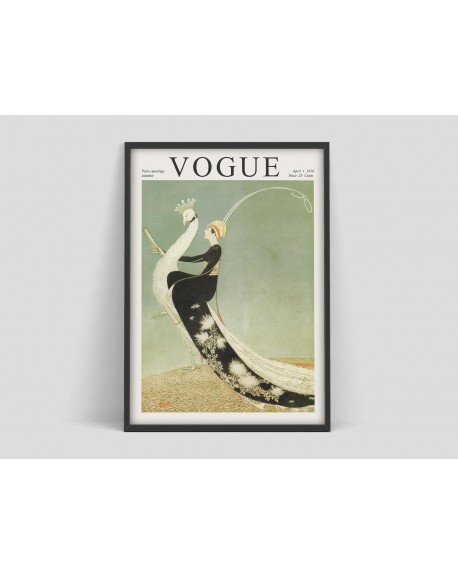 Various selection - Plakat Vogue vintage cover poster - Plakaty Skandynawskie