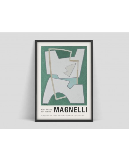 Various selection - Plakat Alberto Magnelli Art exhibition poster - Plakaty Skandynawskie