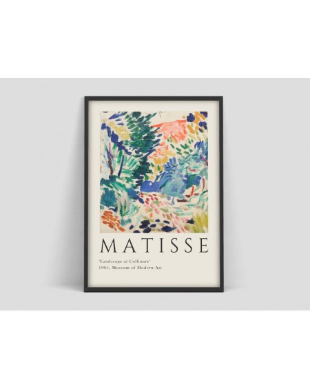 Various selection - Plakat Henri Matisse art Exhibition Poster - Plakaty Skandynawskie