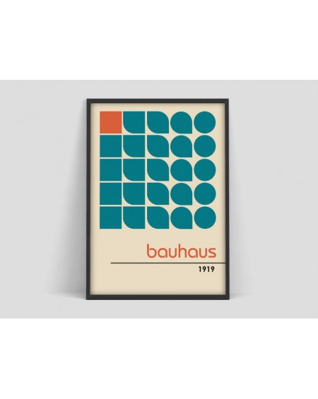 Various selection - Plakat 100 year Bauhaus, Exhibition print, Herbert Bayer poster - Plakaty Skandynawskie