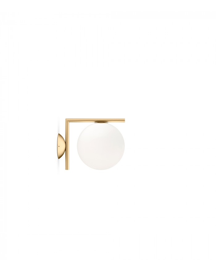 IC C/W 1 ceiling/wall lamp brass