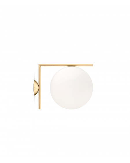 FLOS - IC C/W2 ceiling/wall lamp brass