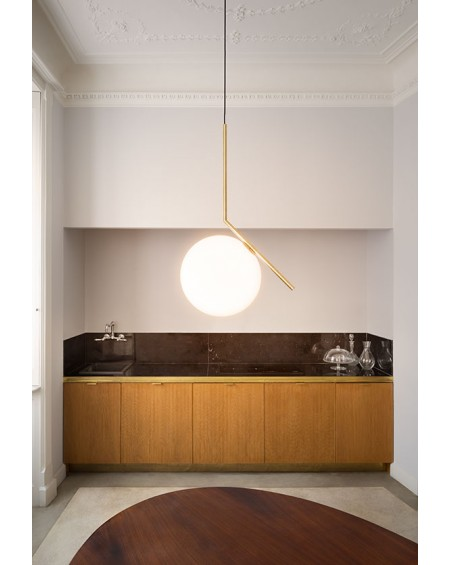 FLOS - IC S1 pendant lamp brass