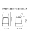 Menu - Harbour Counter Side Chair - Stołki Barowe