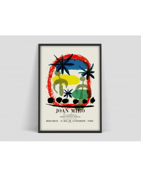 Various selection - Plakat Joan Miro I - Plakaty Skandynawskie