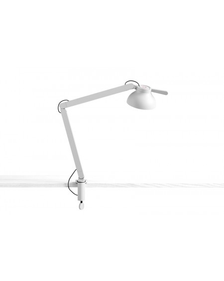 HAY - PC double arm w. clamp / desk lamp - Skandynawskie Lampki Biurkowe